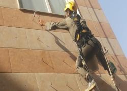 کار در ارتفاع بدون داربست در تهران|خدمات نما بدون داربست