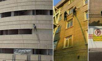 پیچ و رولپلاک سنگ نما در تهران