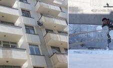 رنگ نمای بیرونی ساختمان در تهران