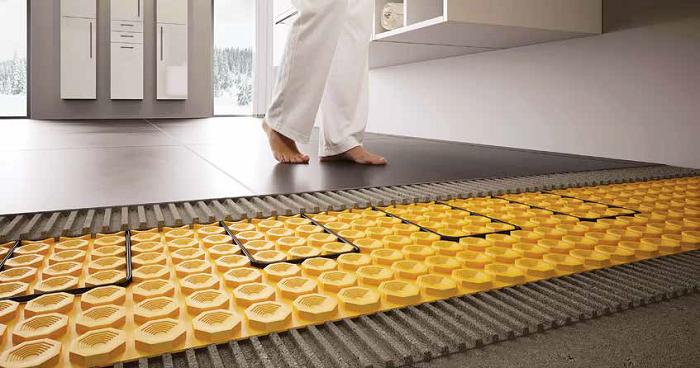 سامانه کف سازی دیتراهیت،کف سازی گرمایش از کف