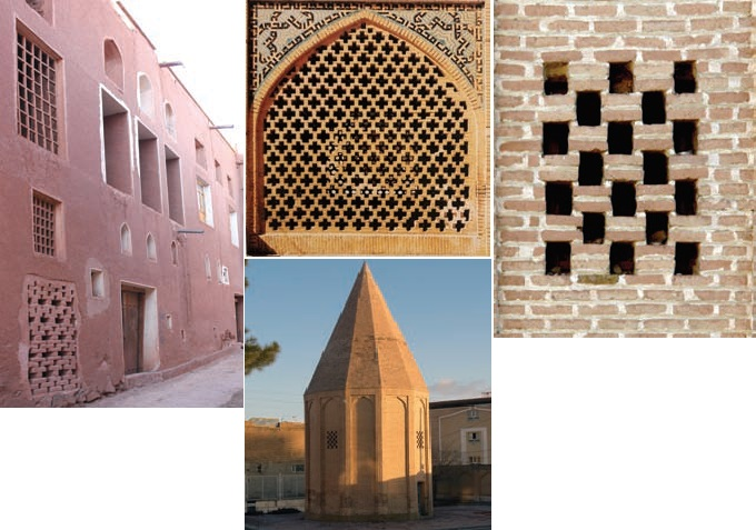 طرح هاى نرده پنجره در دوره قاجاریه