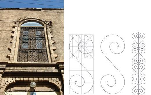 مدل های نرده پنجره در دوره قاجاریه