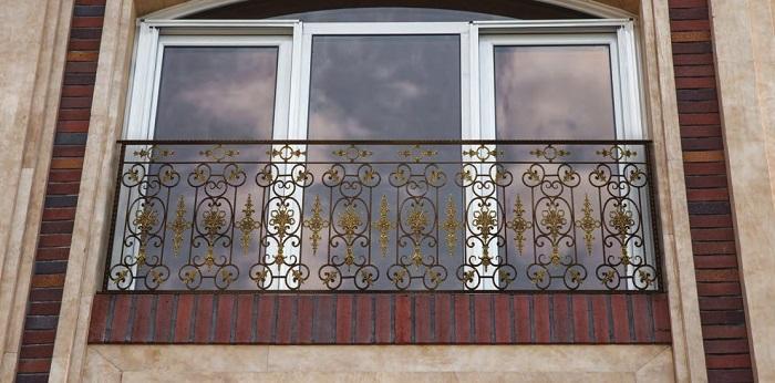 طرح نرده پنجره فرفوژه