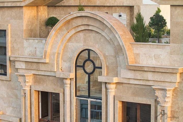 مقاوم سازی سنگ های ساختمانی تراورتن با روش سیمان کاری